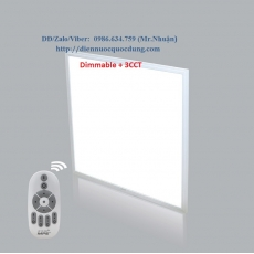 LED Panel lớn Dimmable 3CCT FPL-3030/3C-RC