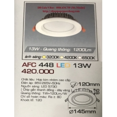 Đèn downlight led AFC 448 13W 1C