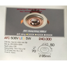 Đèn downlight led AFC 506V 5W 1C