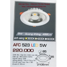 Đèn downlight led AFC 523 5W 1C