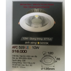 Đèn downlight led AFC 529 10W 1C