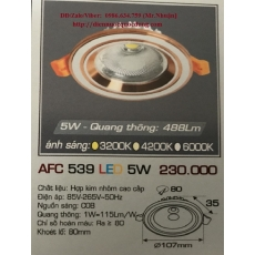 Đèn downlight led AFC 539 5W 1C