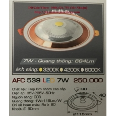 Đèn downlight led AFC 539 7W 1C