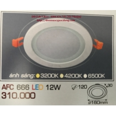 Đèn downlight led AFC 666 12W