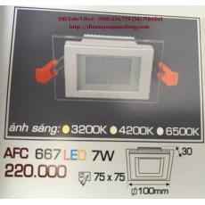 Đèn downlight led AFC 667 7W