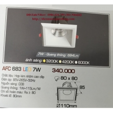 Đèn downlight led AFC 683 7W 1C