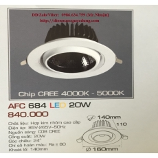 Đèn downlight led AFC 684 20W 1C