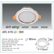 Đèn downlight led AFC 415 9W 1C