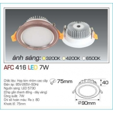 Đèn downlight led AFC 416 7W 1C