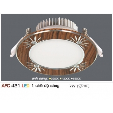 Đèn downlight led AFC 421 7W 1C