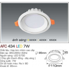 Đèn downlight led AFC 434 LED 7W