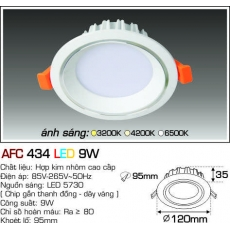 Đèn downlight led AFC 434 LED 9W