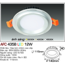 Đèn downlight led AFC 435B LED 12W