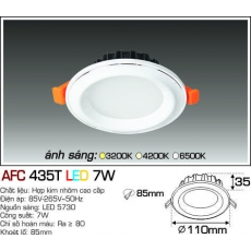 Đèn downlight led AFC 435T 3C 7W