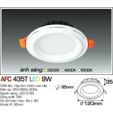 Đèn downlight led AFC 435T 3C 9W