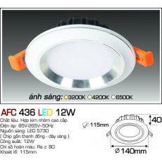 Đèn downlight led AFC 436 LED 12W