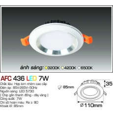 Đèn downlight led AFC 436 LED 7W