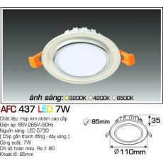Đèn downlight led AFC 437 LED 7W