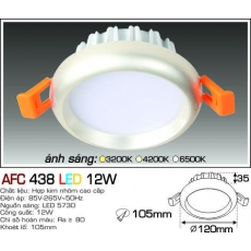 Đèn downlight led AFC 438 LED 12W