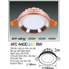 Đèn downlight led AFC 440C LED 9W
