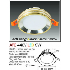 Đèn downlight led AFC 440V LED 9W