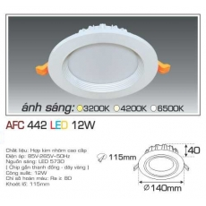 Đèn downlight led AFC 442 12W 1C