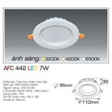 Đèn downlight led AFC 442 7W 1C
