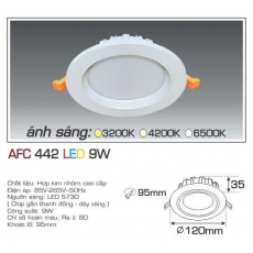 Đèn downlight led AFC 442 9W 1C