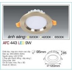 Đèn downlight led AFC 443 9W 1C