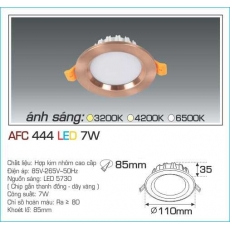 Đèn downlight led AFC 444 7W 1C