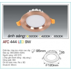 Đèn downlight led AFC 444 9W 1C