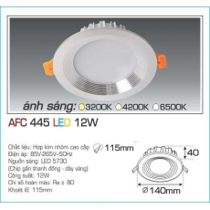 Đèn downlight led AFC 445 12W 1C