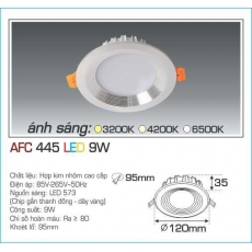 Đèn downlight led AFC 445 9W 1C