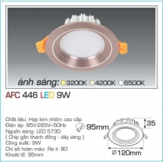 Đèn downlight led AFC 446 9W 1C