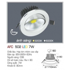 Đèn downlight led AFC 502 7W