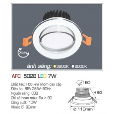 Đèn downlight led AFC 502B 7W