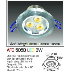 Đèn downlight led AFC 505B LED