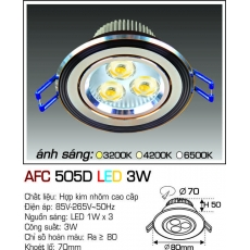 Đèn downlight led AFC 505D LED