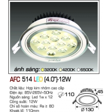 Đèn downlight led AFC 514 LED 12W