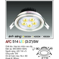 Đèn downlight led AFC 514 LED 5W