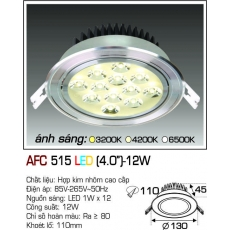Đèn downlight led AFC 515 LED 12W