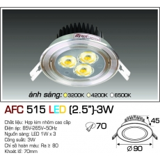 Đèn downlight led AFC 515 LED 3W