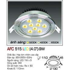 Đèn downlight led  AFC 515 LED 9W