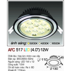 Đèn downlight led AFC 517 LED 12W