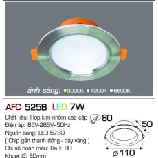 Đèn downlight led AFC 525B LED 7W