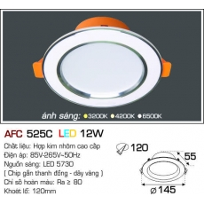 Đèn downlight led AFC 525C LED 12W