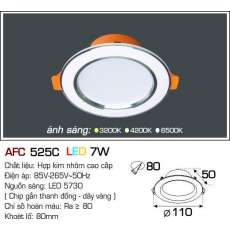 Đèn downlight led AFC 525C LED 7W