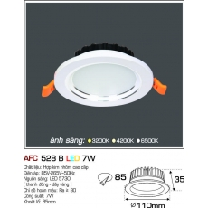 Đèn downlight led AFC 528B 7W