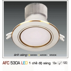 Đèn downlight led AFC 530A 12W 1C
