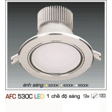 Đèn downlight led AFC 530C 12W 1C